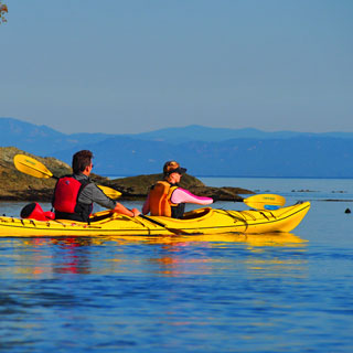 Sea Kayaking Excursions near Olympic National Park