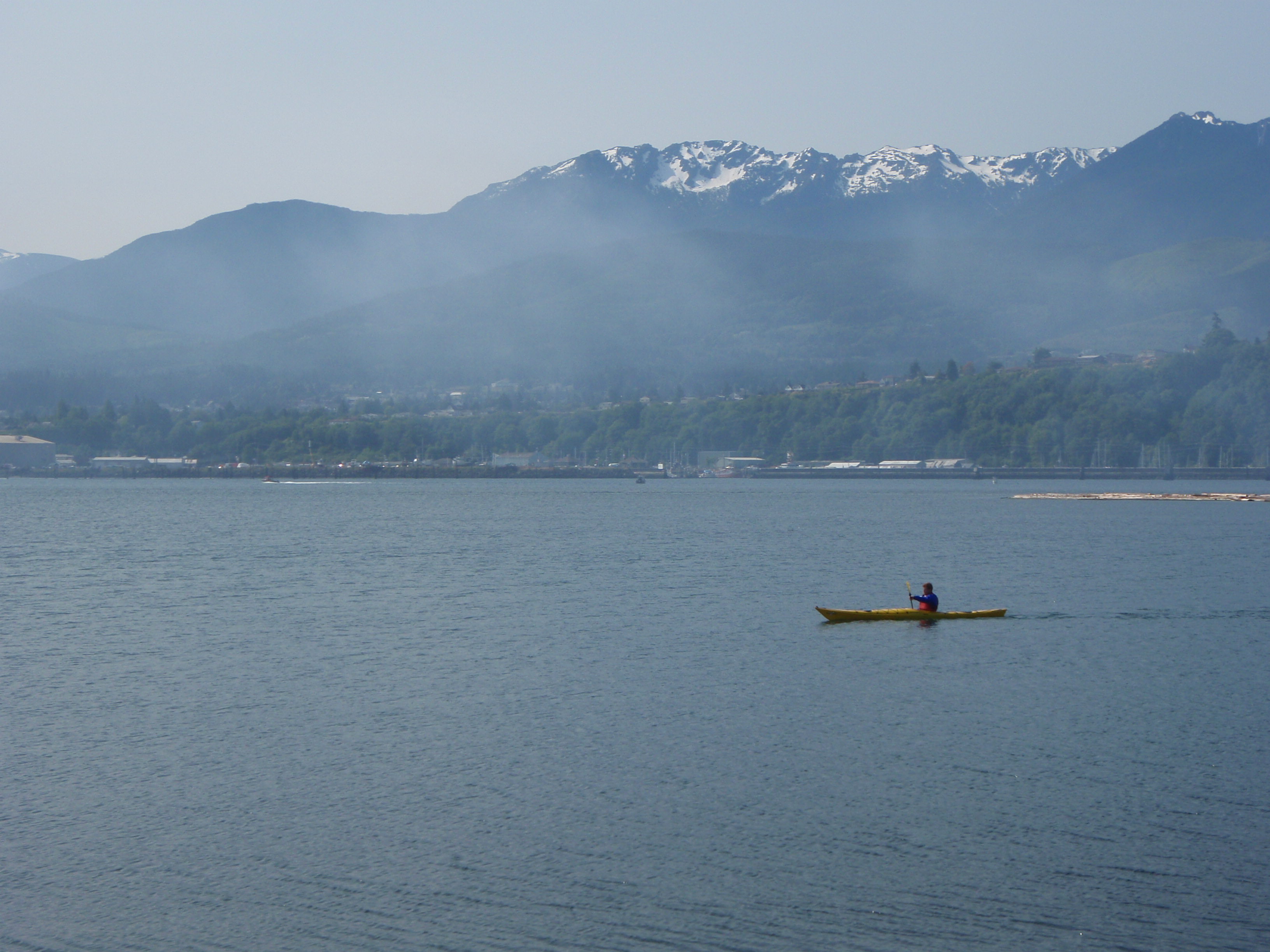 A Short Guide to Kayaking the Port Angeles Harbor